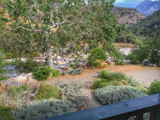 Three Rivers, Californien: View from balcony - Room 11