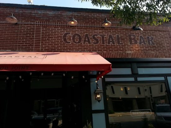 Goin' Coastal Sustainable Seafood Joint: Front of restaurant
