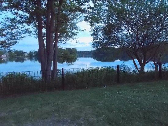 Spy Pond Park Arlington MA beside a lovely lake
