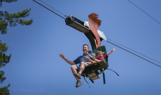 soaring eagle ride - Picture of Killington Grand Resort Hotel ...