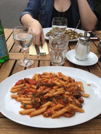 Osteria da Salvatore: Nicht besonders leckeres Essen.