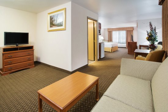 Holiday Inn Express Hotel Suites Marion Executive King Suite