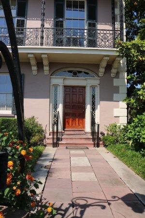 Edmondston-Alston House - front door