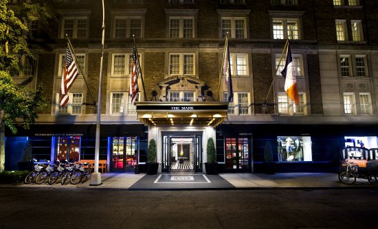 The Mark: Hotel Entrance Night