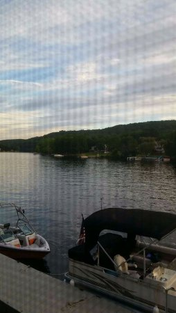 Seymour, CT: view from our table