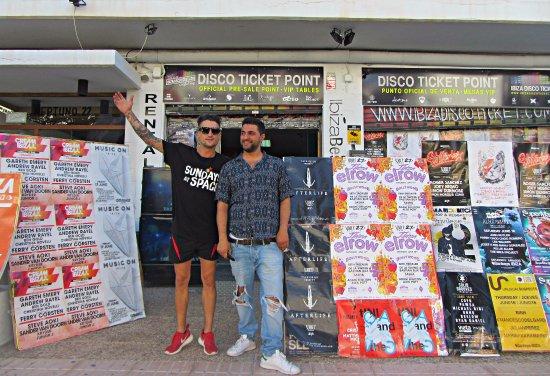 Disco Ticket Point