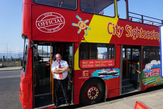 City Sightseeing Bute: Paul, and his Buteiful bus!