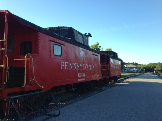 New Freedom, Pensilvania: Restored Pennsylvania Trains