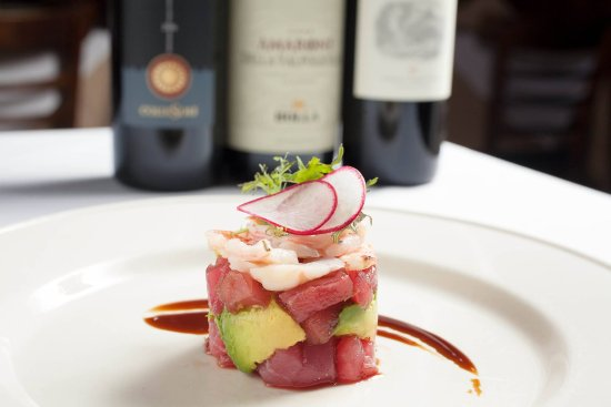Antica Trattoria: Tuna and Avocado Tower