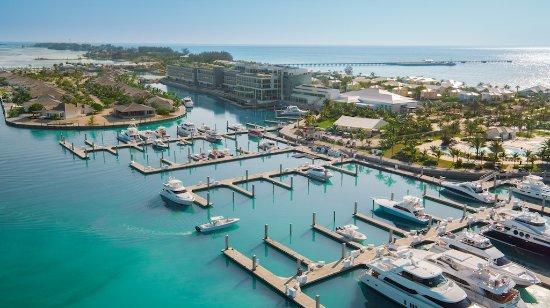 The Marina At Resorts World Bimini Encompasses The Largest Yacht And