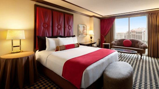 Red Room 1 King Picture Of Paris Las Vegas Las Vegas