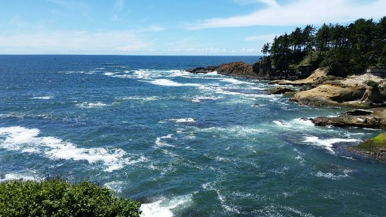 Depoe Bay, OR: Perfect! Just had a wonderful lunch here.