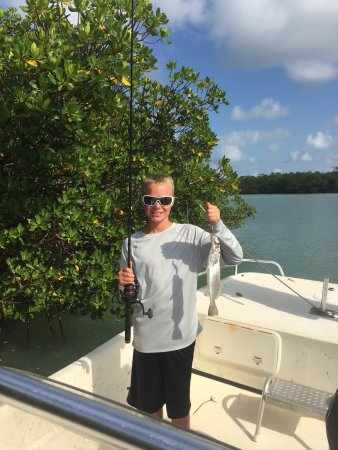 Goodland, فلوريدا: Capt. Jesse was absolutely fantastic. My 9 and 11 year had a blast. Capt. Jesse was the highly o