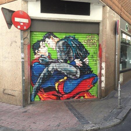 Madrid SmartRentals Gran Vía: Yeri çok merkezi fiyatına göre çok beğendim