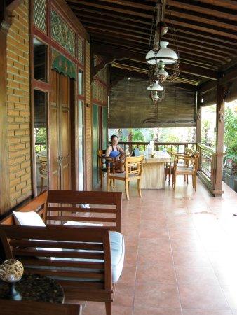 Villa Berawa : Large Lanai