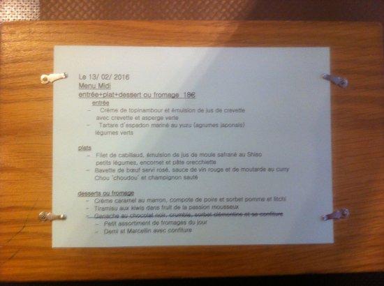 ourson qui boit lyon menu