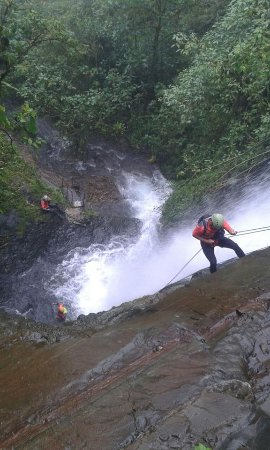 Bucay, Ισημερινός:  CANYONING.....AVENTURA AL MAXIMO