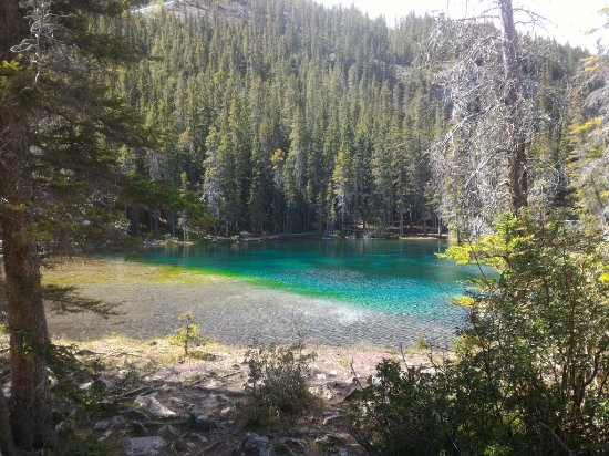 Grassi Lakes: Amazing crystal clear water