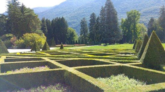 Os jardins s o espetaculares photo de parc du chateau de for Restaurant a vizille