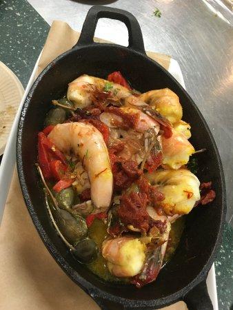 Secret Garden Cafe: Shrimp Puttanesca