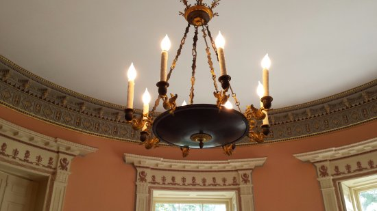 The music room chandelier picture of nathaniel russell house nathaniel russell house the music room chandelier aloadofball Choice Image