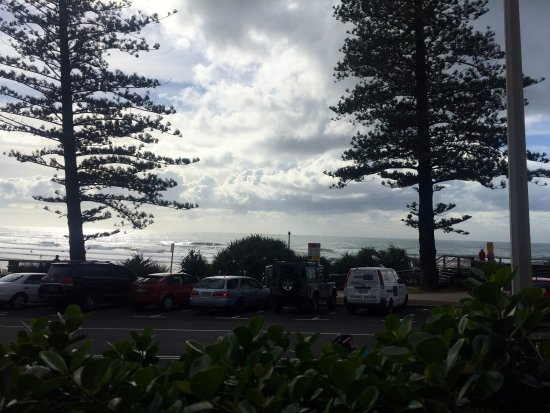 Coolum Beach, Australien: View from our table