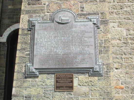Kingston, Nowy Jork: History of Old Dutch Church