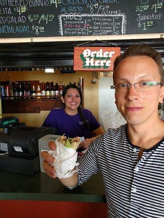 Morenita's : Delish Mexican food. So freaking good!