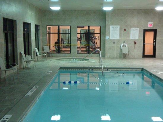 Borger Swimming Pool at Night