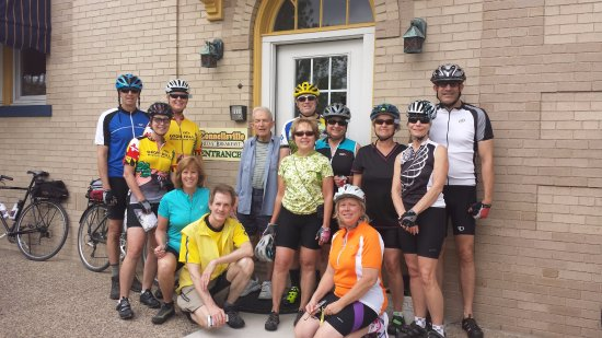Connellsville Bed and Breakfast: GAP Bike Virginia Group
