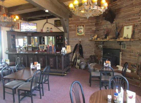 Hanksville, UT: More of the SlickRock dining area, with fun photo ops