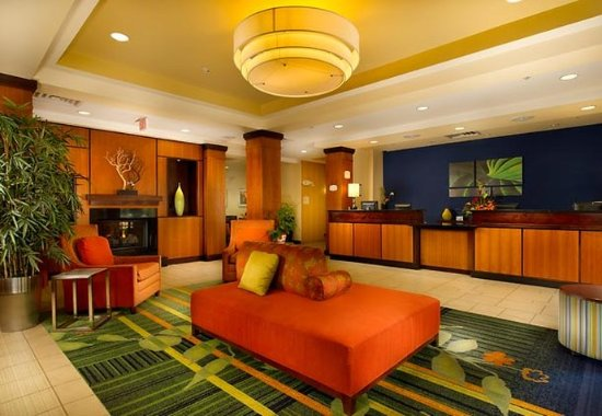 Fairfield Inn & Suites Chattanooga I-24/Lookout Mountain: Lobby
