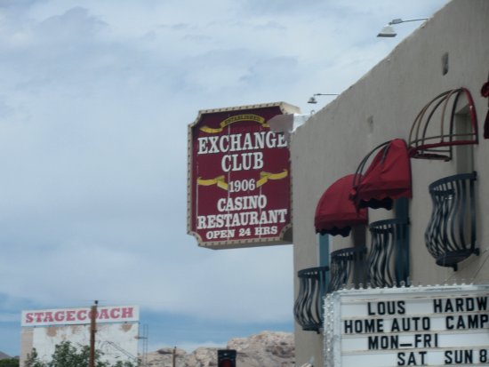 Exchange Club Motel, Casino, Restaurant, Beatty, NV
