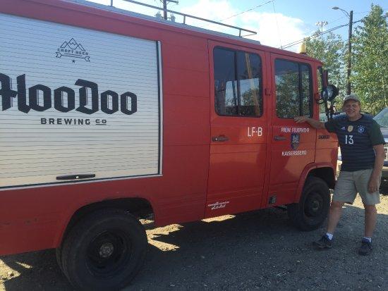 HooDoo Brewing Company: Das Hoodoo Feuerwehr