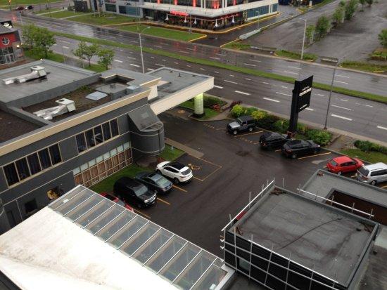 Hotel Classique: Balcony view