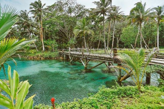 Savasi Island Villas : bridge