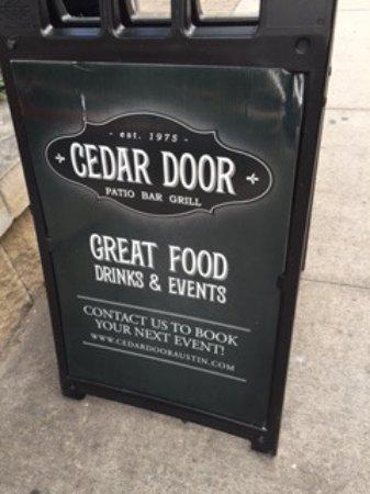 & Cedar Door - Picture of Cedar Door Austin - TripAdvisor