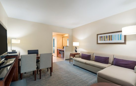 Embassy Suites by Hilton Denver - Downtown / Convention Center: Suite Living Room