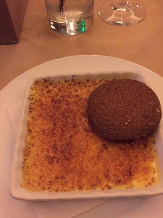 LB Steak: Creme Brulee