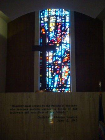 Abilene, KS: Inside chapel