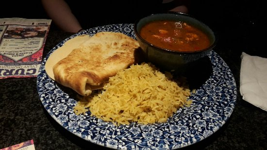 Chicken Jalfrezi With Rice Naan Bread And Poppadoms 649