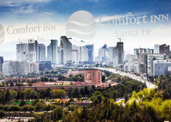 Nuevo Baño De Santa Fe:Comfort Inn Hotel Santa Fe CD De Mexico