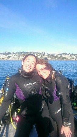 Plongée entre copines en plein hiver avec Sev ! On plonge toute l'année avec la Cigale ;)