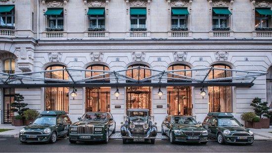 The Peninsula Paris: Hotel Car Fleet