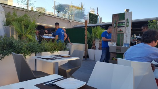 Terraza Para Comer Picture Of Gymage Terrace Madrid