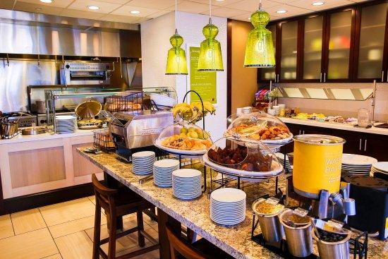 Murfreesboro, Теннесси: Breakfast Area