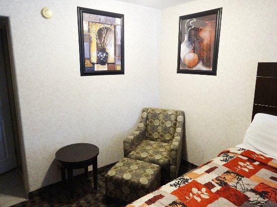 Sunburst Spa & Suites Motel: Ruheecke