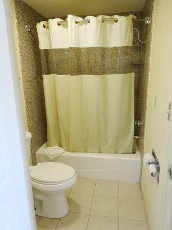Sunburst Spa & Suites Motel: Badezimmer