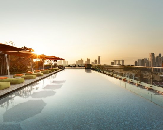 Singapore Hotel With Infinity Pool On Rooftop Image Picture Of Hotel Jen Orchardgateway Singapore Singapore TripAdvisor