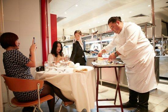 chef s table picture of 8 1 2 otto e mezzo bombana shanghai rh tripadvisor com